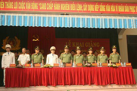 Truong Dai hoc PCCC khai giang nam hoc moi - Anh 1