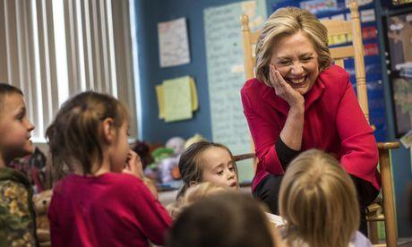 Ba Hillary chia se ky niem 'xau ho' thoi trung hoc - Anh 1