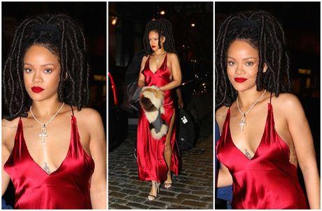 Paris Hilton, Rihanna dien thoi trang goi cam nhat tuan qua - Anh 1