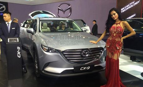 Mazda CX-9 2016 xuat hien tai Ha Noi, tham do thi truong Viet Nam - Anh 1