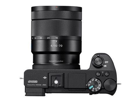 Sony A6500 ra mat: chong rung 5 truc, man hinh cam ung, gia 1400 USD - Anh 2