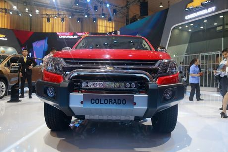 Chevrolet ra mat dong thoi 5 phien ban cua mau xe Colorado 2017 - Anh 4