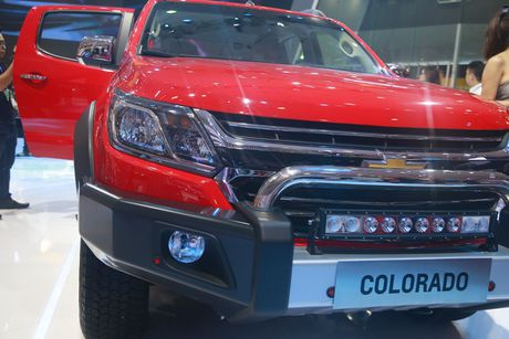 Chevrolet ra mat dong thoi 5 phien ban cua mau xe Colorado 2017 - Anh 6