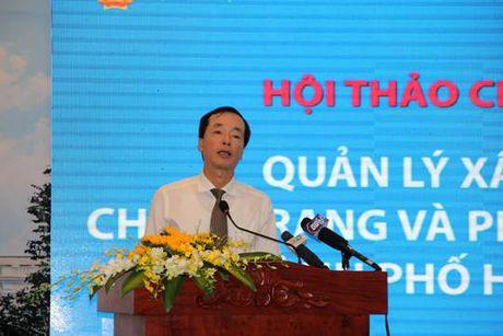 Bo truong Pham Hong Ha chi dao hoi thao chinh trang va phat trien do thi TP HCM - Anh 1