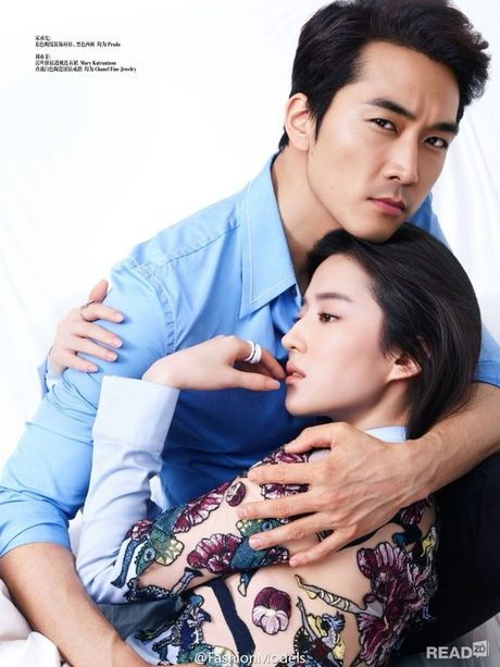 Luu Diec Phi sang Han du sinh nhat ban trai cung co tinh cam - Anh 3