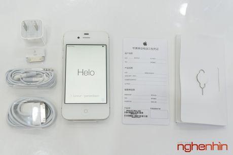 iPhone 4S chua kich hoat bao hanh bat ngo xuat hien tai Viet Nam - Anh 2