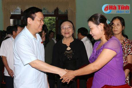 Pho Thu tuong Vuong Dinh Hue chia se kho khan voi tieu thuong cho Son - Anh 1
