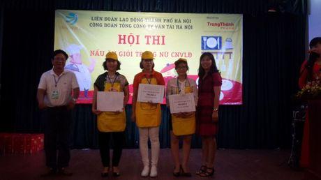 Dac sac hoi thi nau an gioi trong nu CNVCLD Tong cong ty Van tai Ha Noi - Anh 10