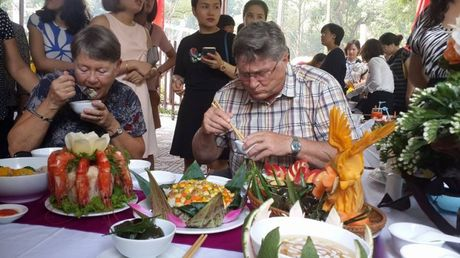 Dac sac hoi thi nau an gioi trong nu CNVCLD Tong cong ty Van tai Ha Noi - Anh 4