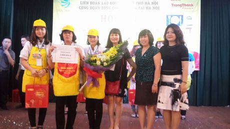 Dac sac hoi thi nau an gioi trong nu CNVCLD Tong cong ty Van tai Ha Noi - Anh 7