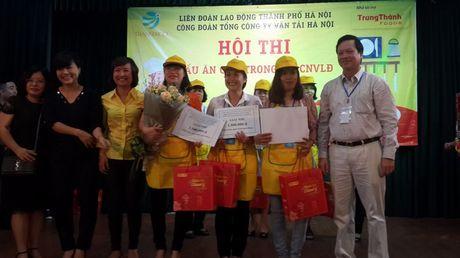 Dac sac hoi thi nau an gioi trong nu CNVCLD Tong cong ty Van tai Ha Noi - Anh 8