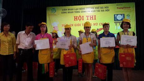 Dac sac hoi thi nau an gioi trong nu CNVCLD Tong cong ty Van tai Ha Noi - Anh 9