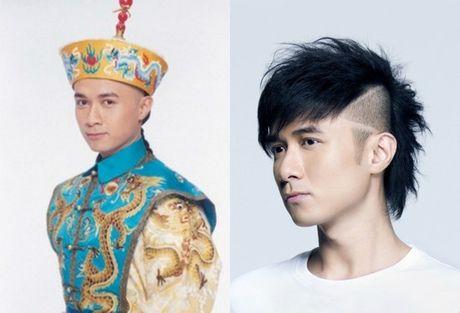 Phan doi trai nguoc cua dan dien vien 'Hoan Chau cach cach 3' - Anh 2