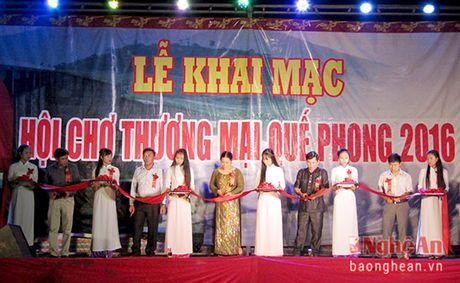 100 gian hang tham gia Hoi cho thuong mai Que phong nam 2016 - Anh 1