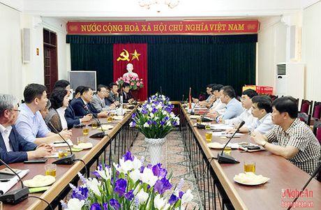 Doanh nghiep Han Quoc khao sat mo quay hang tai cho Vinh - Anh 1