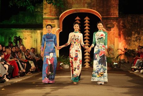 Festival Ao dai Ha Noi 2016 trinh dien tai Hoang thanh Thang Long - Anh 1
