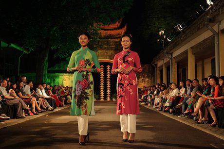 Festival Ao dai Ha Noi 2016 trinh dien tai Hoang thanh Thang Long - Anh 6