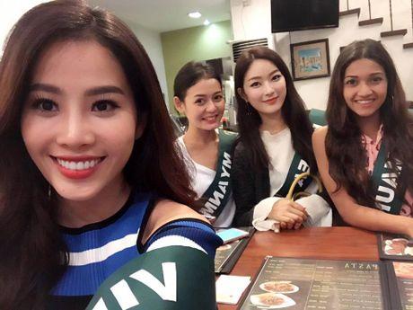 Nam Em noi bat khi do sac cung dan thi sinh Miss Earth 2016 - Anh 5