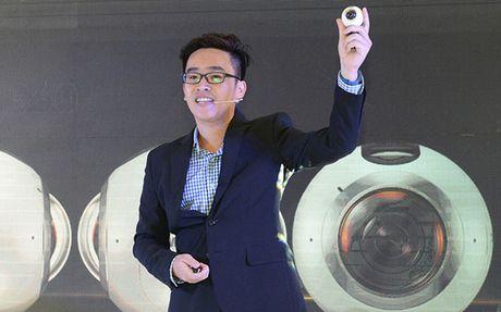 'Do choi' sanh dieu Samsung Gear 360 gia 6,99 trieu dong - Anh 1