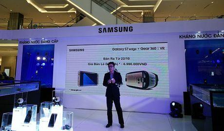 'Do choi' sanh dieu Samsung Gear 360 gia 6,99 trieu dong - Anh 3