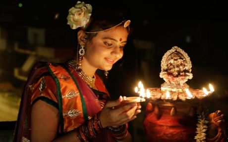 TP.HCM: Cong dong nguoi An hao huc don cho le hoi Diwali - Anh 4