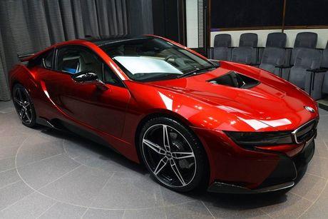 BMW i8 doc nhat vo nhi cua cong chua Abu Dhabi - Anh 2