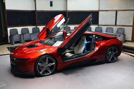 BMW i8 doc nhat vo nhi cua cong chua Abu Dhabi - Anh 6