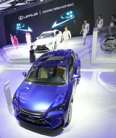Bon mau xe Lexus an tuong tai trien lam o to 2016 - Anh 1