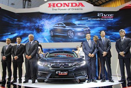 Civic moi va CR-V dac biet cua Honda Viet Nam - Anh 2