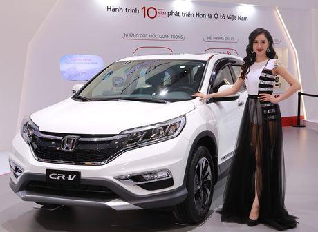 Civic moi va CR-V dac biet cua Honda Viet Nam - Anh 4