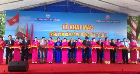 Trien lam Truong Sa, Hoang Sa la cua Viet Nam - Anh 2