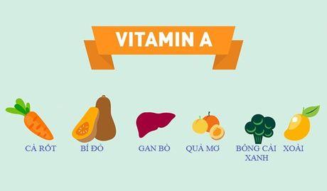 11 vitamin giup lan da trang min - Anh 1