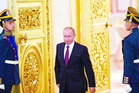 Tong thong Putin lam gi trong sinh nhat lan thu 64? - Anh 1