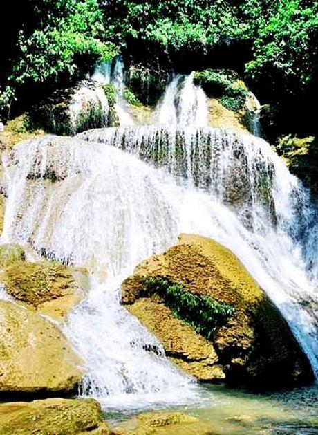 Kham pha thac mo – Tuyen Quang - Anh 1