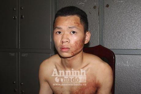 Can canh bat nghi pham 9x cua co tai xe taxi trong dem o Ha Noi - Anh 13