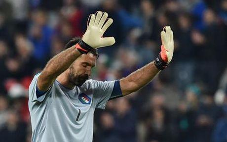 Clip: Sai lam ngo ngan cua Buffon o tran Italia 1-1 Tay Ban Nha - Anh 1