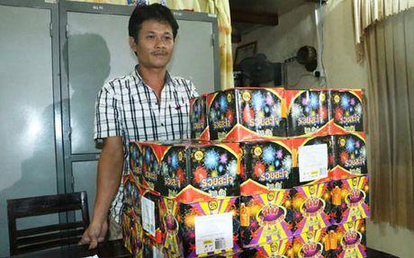 Ha Tinh: Bat doi tuong buon ban 76 kg phao no - Anh 2