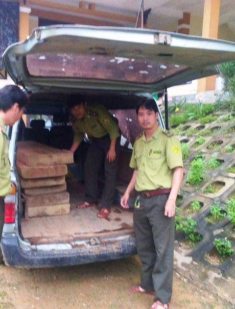 Quang Binh bat giu xe o to cho go lau - Anh 1
