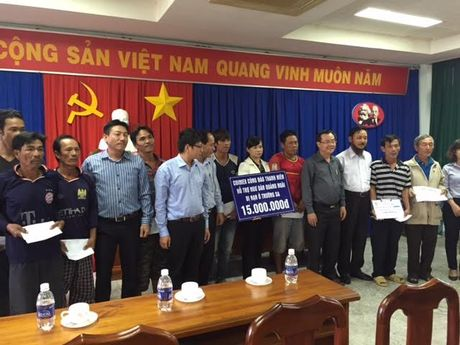 Ba Ria-Vung Tau tiep nhan 15 ngu dan bi nan tren vung bien Hoang Sa - Anh 3