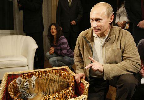 Nhung khoanh khac doi thuong cua Tong thong Nga Putin - Anh 8