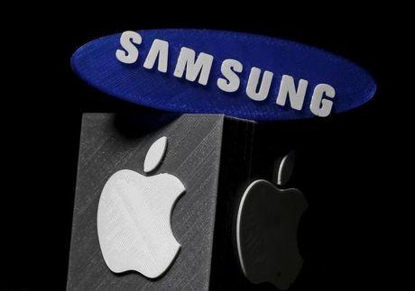 Apple lai thang Samsung trong vu kien sang che mo khoa dien thoai - Anh 1