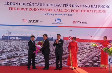 Cang Hai Phong lan dau don tau chuyen dung - Anh 1