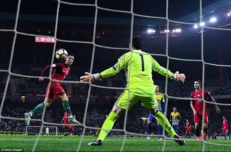 Cristiano Ronaldo ghi 4 ban, Bo Dao Nha nghien nat Andorra - Anh 3