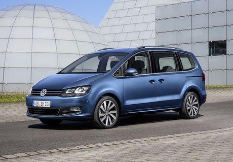 Volkswagen Sharan sap ve Viet Nam 'dau' Honda Odyssey - Anh 1