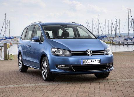 Volkswagen Sharan sap ve Viet Nam 'dau' Honda Odyssey - Anh 2