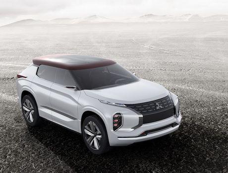 'Soi truoc' Mitsubishi Outlander 2018 qua GT-PHEV Concept - Anh 8