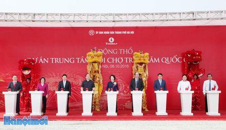 Dong tho Du an Trung tam Hoi cho Trien lam Quoc gia rong 90ha tai huyen Dong Anh - Anh 1