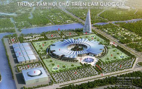 Dong tho Du an Trung tam Hoi cho Trien lam Quoc gia rong 90ha tai huyen Dong Anh - Anh 2