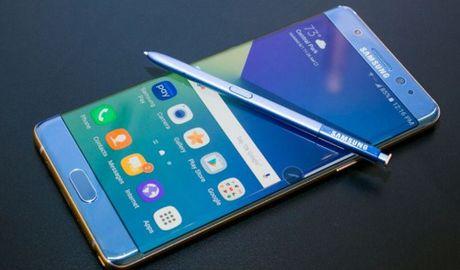 Samsung doi mat be boi kep do Galaxy Note7 'moi' van chay no - Anh 1