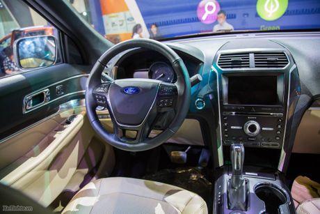 Ford Explorer ngon bo re gia 2 ty 180 trieu-10 tui khi, dong co Ecoboost, 7 cho rong rai - Anh 14